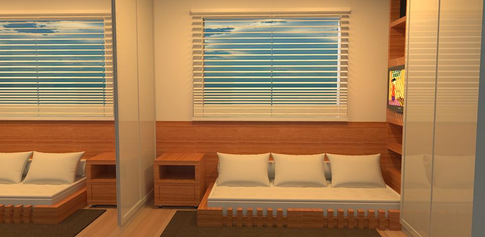 Design de Interiores – Projeto 08 – Nova Friburgo