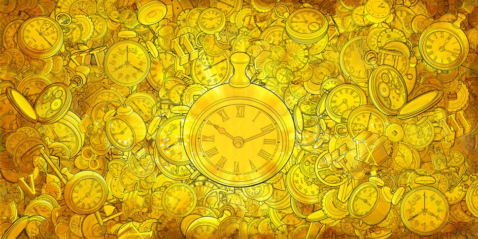 Golden Time – Ilustração – We Design