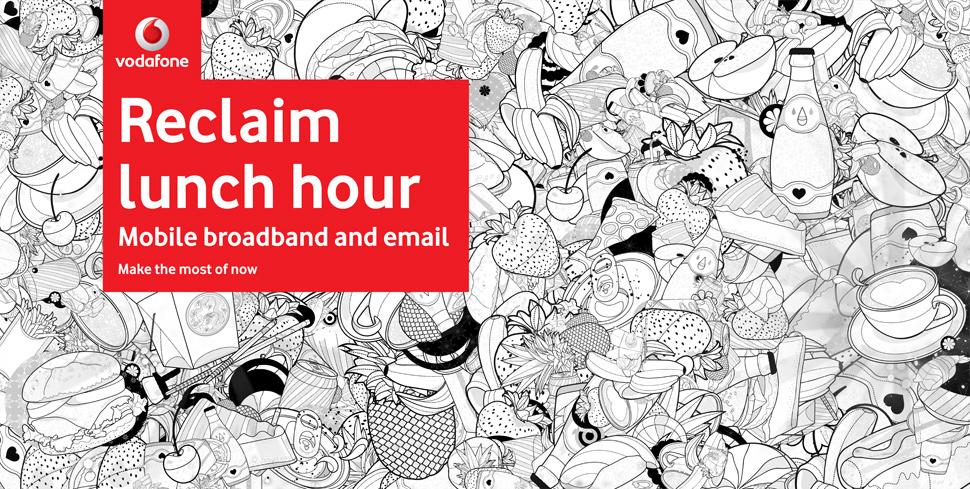 Vodaphone – Ilustração – We Design