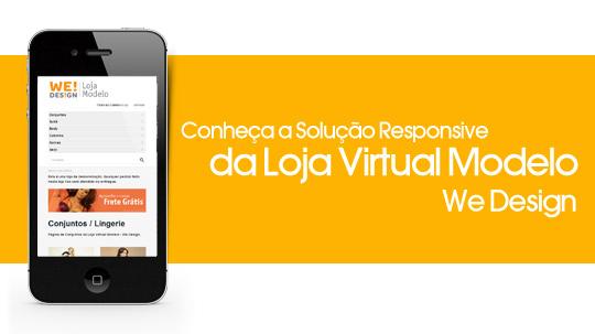 Responsive Web Design na Loja Virtual