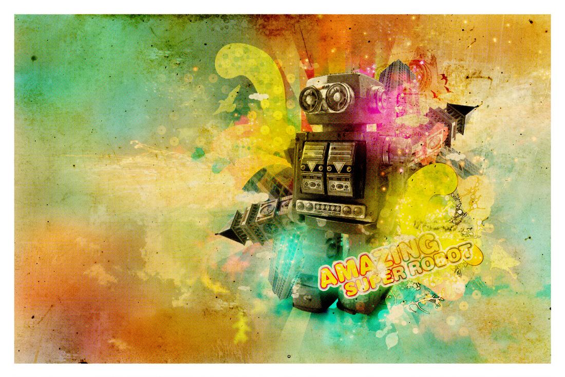 Robot – Ilustrações We Design